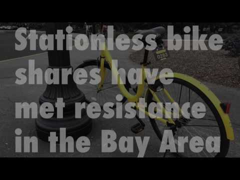 Chinese bike share emerging in Silicon Valley