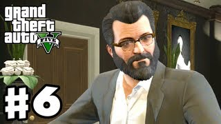 Grand Theft Auto 5 - Gameplay Walkthrough Part 6 - Casing the Jewelry Store (GTA 5, Xbox 360, PS3)
