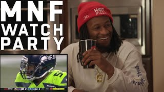 Todd Gurley Hosts MNF Watch Party w/ Friends Robert Woods & Malcolm Brown
