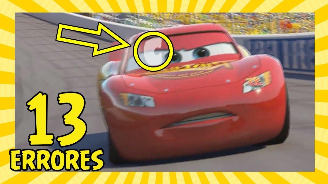 13 Errores en Cars que Quizás No Notaste (Movie Mistakes)