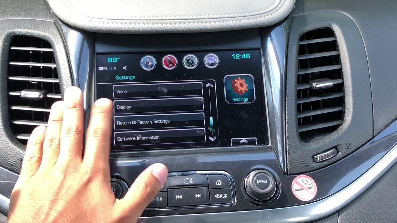 How To Reset Your MYLINK Radio