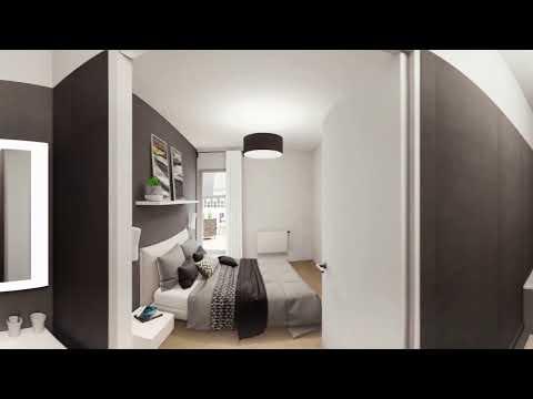 Paris 11e (75011) - Passage Oberkampf // Visite virtuelle d'un 5 pièces duplex