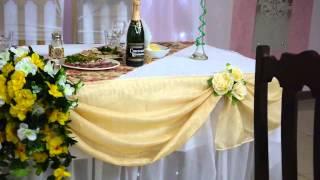 Оформление зала на свадьбу ресторан Папараць Кветка Барановичи
