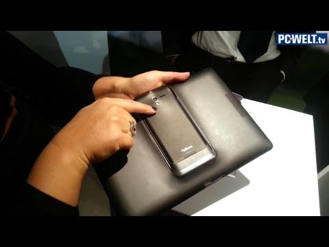 Asus Padfone 2 - Hands-on im Video