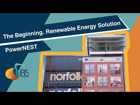 Renewable Energy Solution PowerNEST #1 (wind and solar)      The Beginning