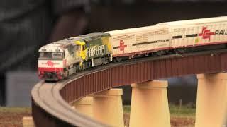 Gambar cover Murray River Bridge HO Scale Model Railway