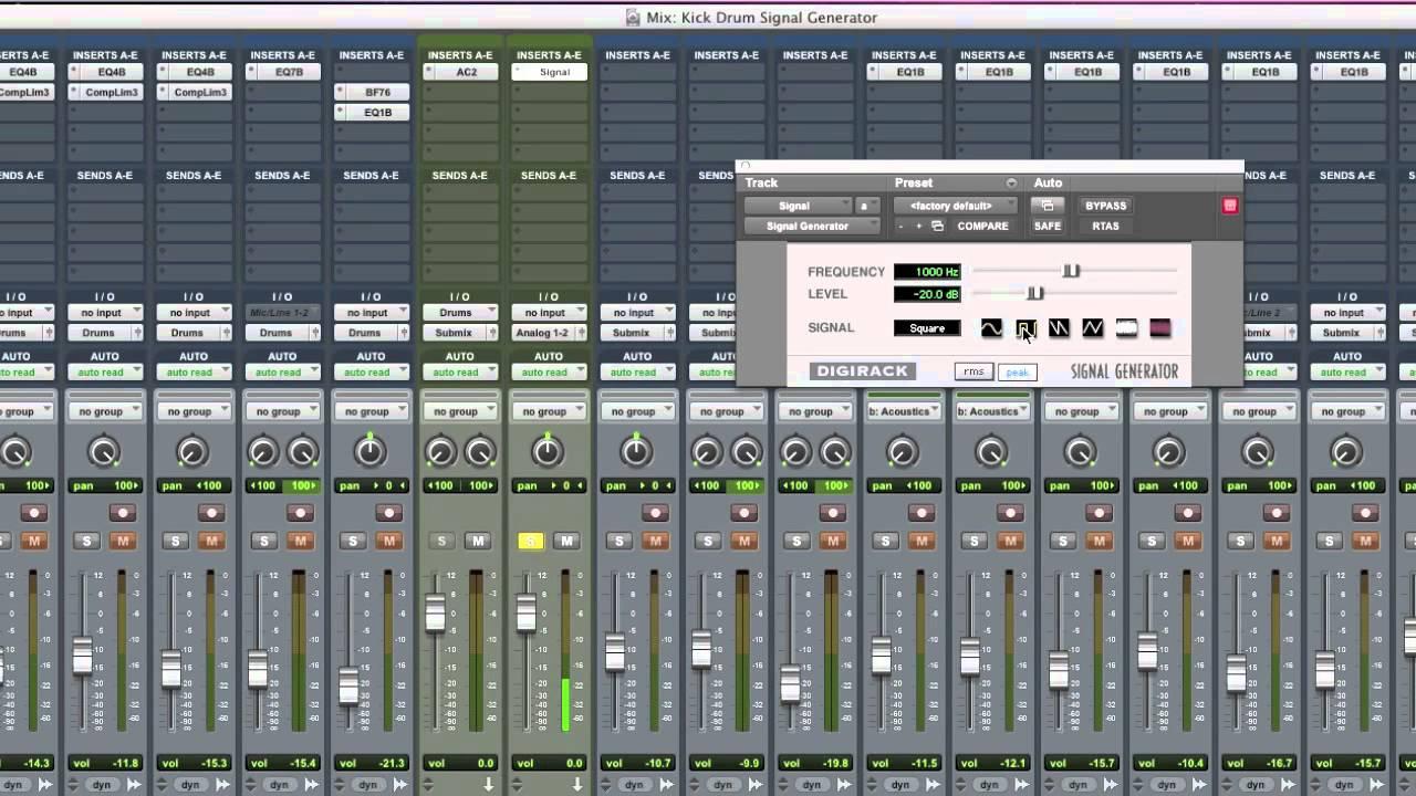 5 Minutes To A Better Mix: Kick Drum Low End - Part 9 of 31