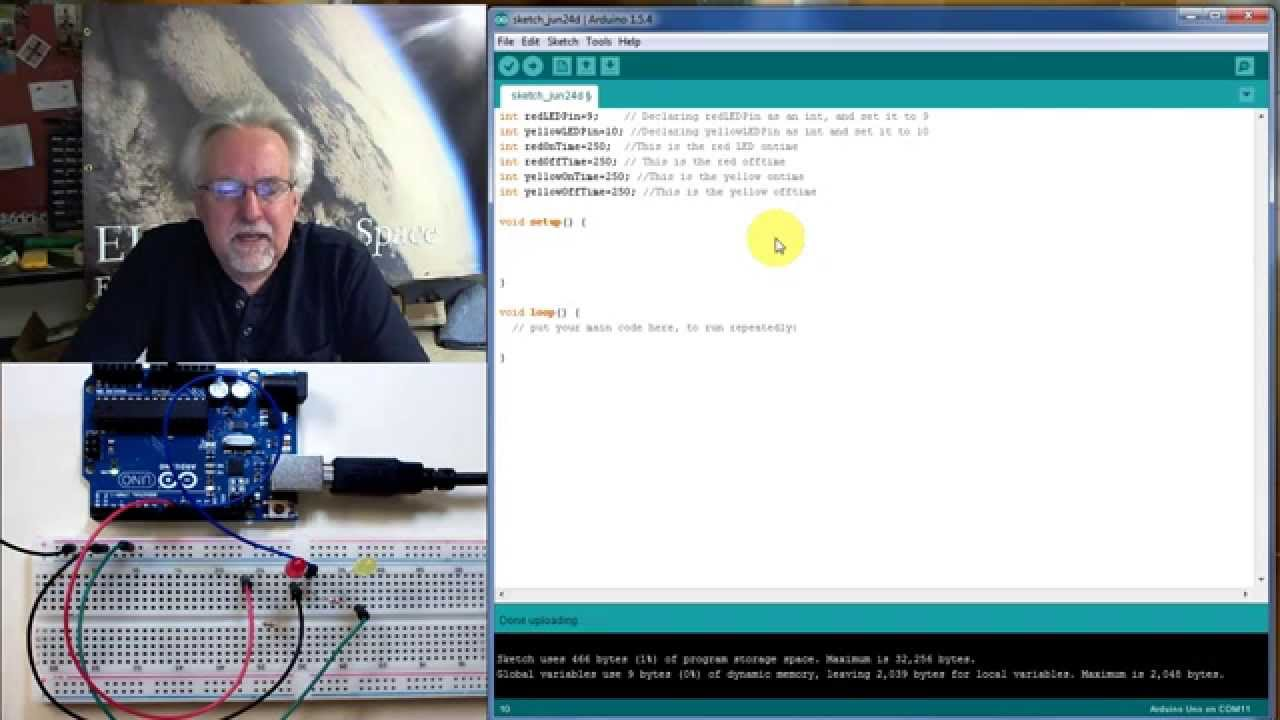 Arduino Tutorial Lesson 3 Breadboards And Leds