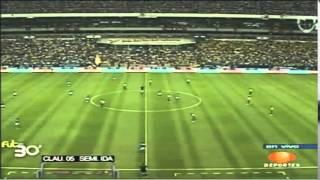 America 3-1 Cruz Azul, Semifinal ida C05, Estadio Azteca, 19Mayo2005