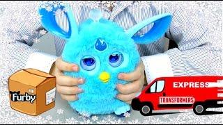 ТРАНСФОРМЕРЫ Автоботы Трансформеры Прайм и ФЕРБИ Коннект Furby Connect на русском Видео для детей
