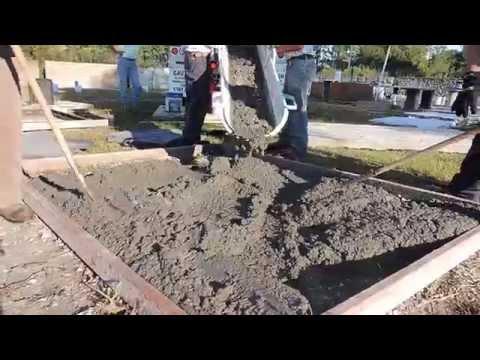 Seminar 10. 9 ,2014 Stamped Concrete Demonstration