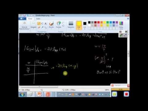 Resposta em frequência de fatores básicos. Fator de 1a ordem. from YouTube · Duration:  20 minutes 3 seconds