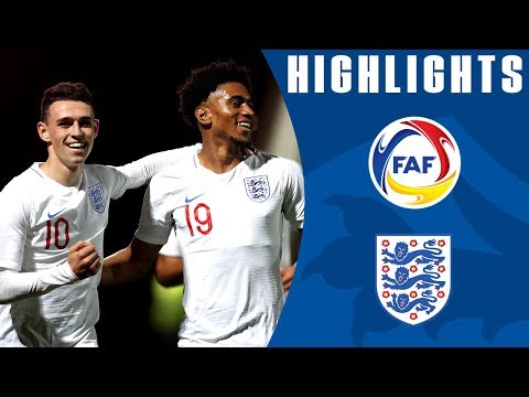 England U21 7-0 Andorra U21 | Nelson and Foden Shine on Debut | Official Highlights