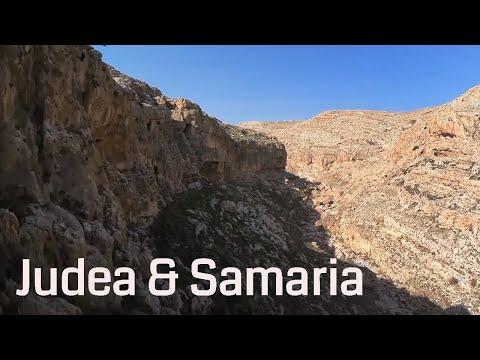 Judea And Samaria / Aerial 4K Palestine