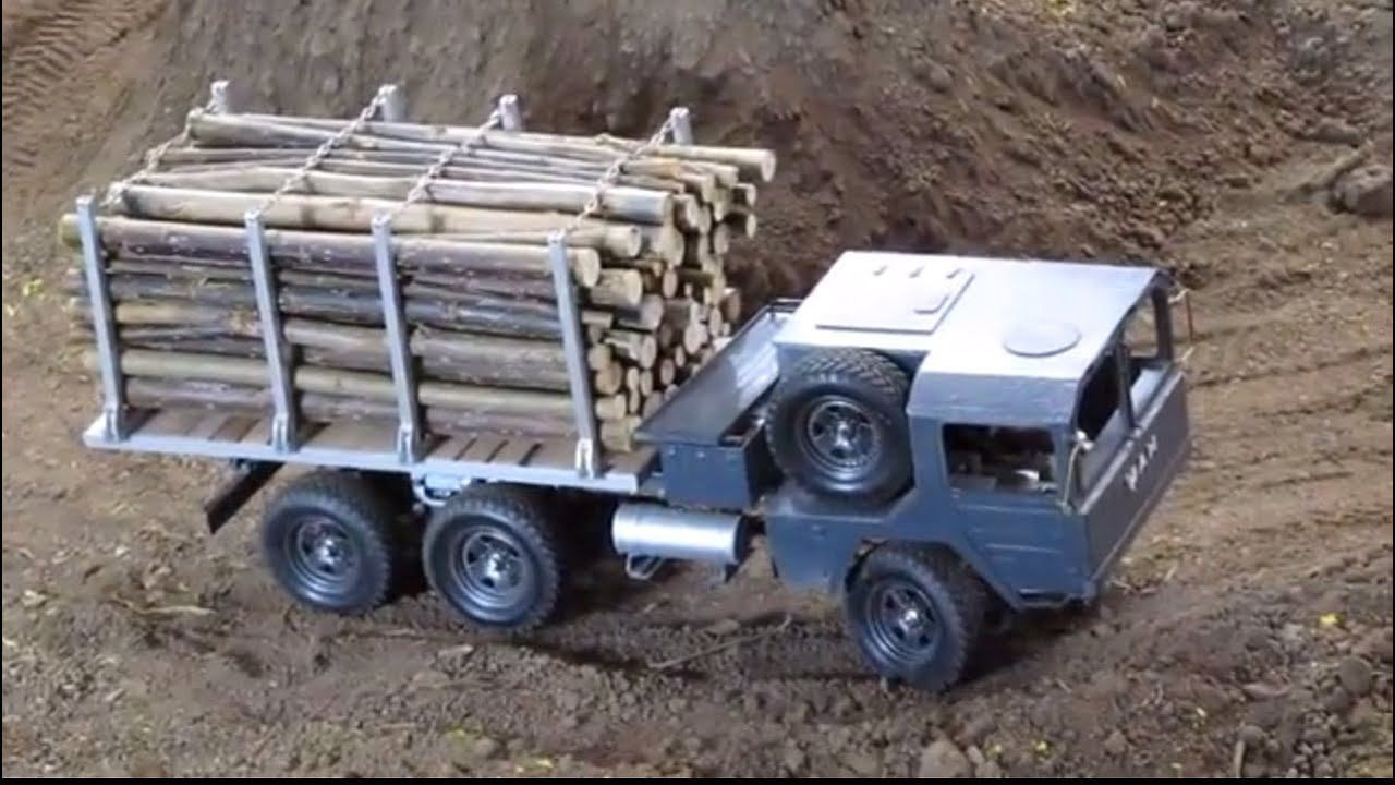 rc man kat 1 6x6 with timber offroad youtube. Black Bedroom Furniture Sets. Home Design Ideas