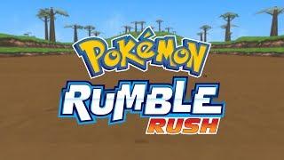 Time to start exploring in Pokémon Rumble Rush!