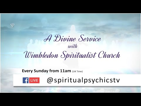 Spiritualist Divine Service with Ashley Robinson.
