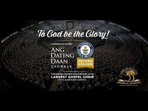 World's Largest Gospel Choir - Ang Dating Daan Chorale (Official Video)