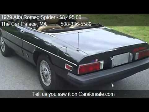 Alfa Romeo Spider Veloce Convertible For Sale In Seek YouTube - 1979 alfa romeo spider for sale