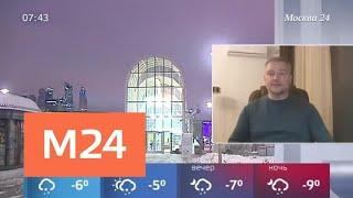 Смотреть видео Очередная оттепель придет в Москву на следующей неделе - Москва 24 онлайн