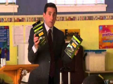 The Office- Michael's Lithium Batteries