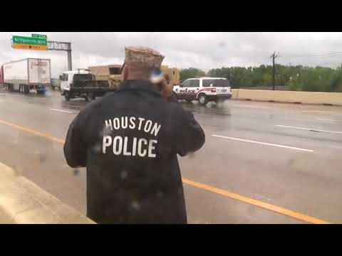 Local first responders help out in Houston