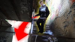 LOST PLACE - Treppe ins nichts (5 Meter Fall)  -DailyVlog 78