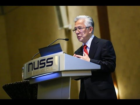 NUSS Public Lecture by Professor Shih Choon Fong (Full Lecture)