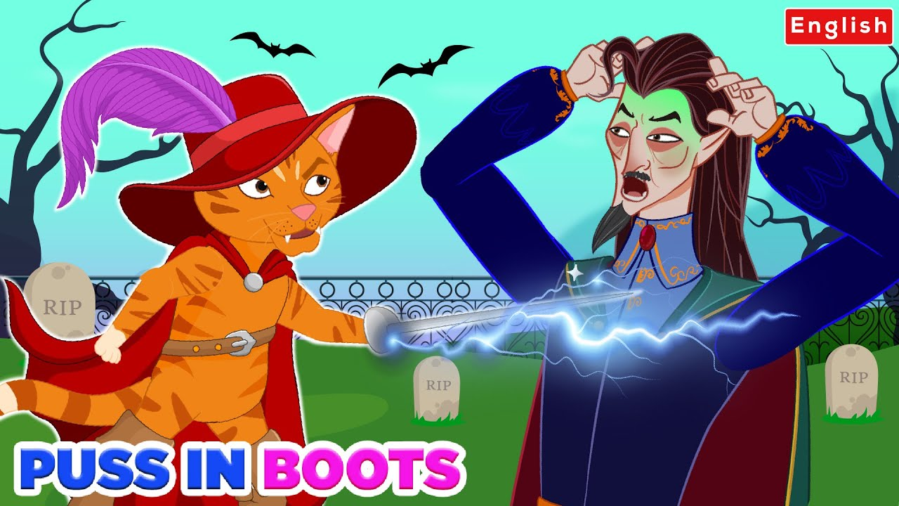 Puss in Boots 😺 Story in English | Story For Teenagers | WOA Fairy Tales