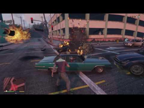 Tom Plays Grand Theft Auto V Chaos In Los Santos