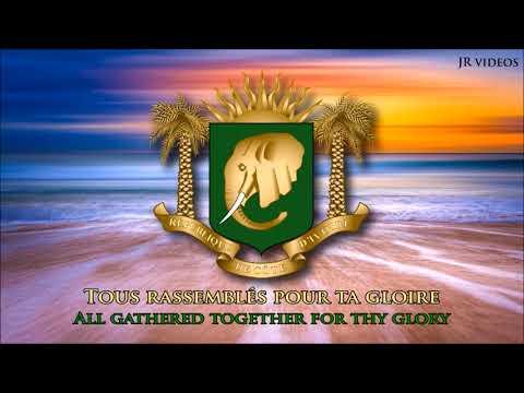 Anthem of Ivory Coast (FR/EN lyrics) - Hymne national de la Côte d'Ivoire