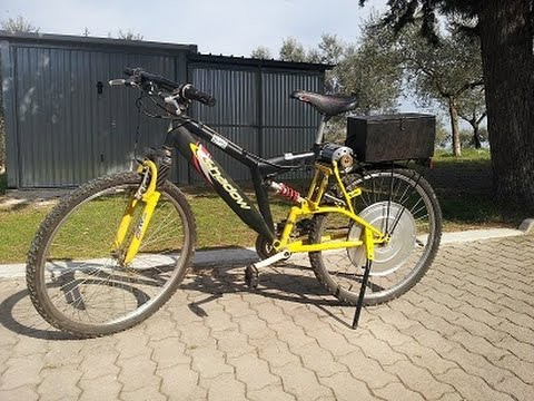 Bicicletta Elettrica Fai Da Te (homemade Electric Bike)