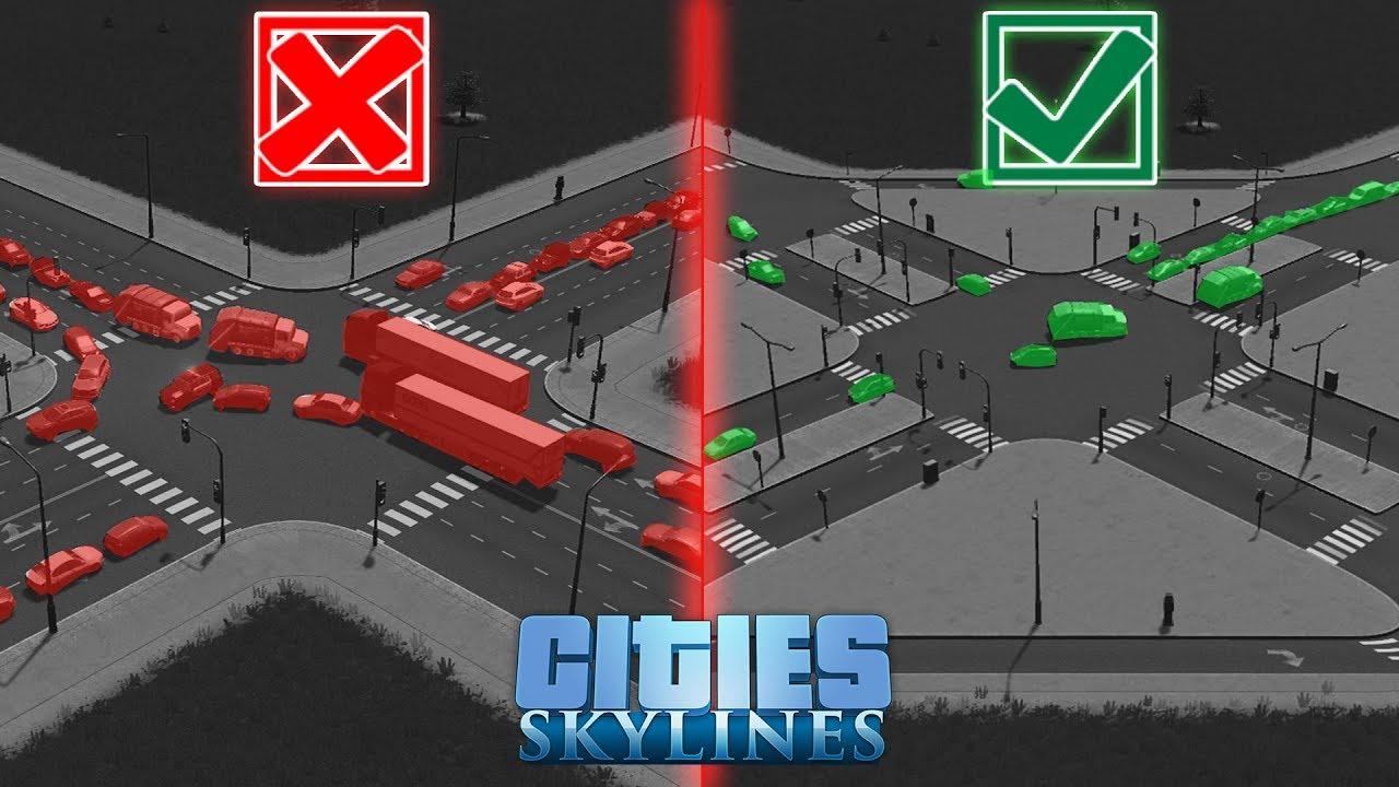 Cities skylines 6 way interchange