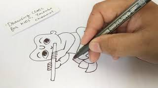 Baal Krishna Drawing Videos Janmashtami special