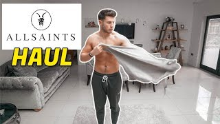 Gambar cover HUGE All Saints Men's Clothing Haul & Try-On | Men's Fashion 2020