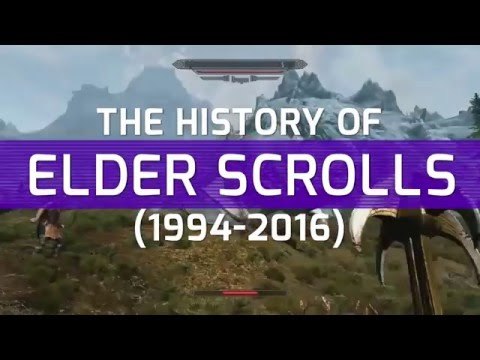 The History of Elder Scrolls 1994 - 2016