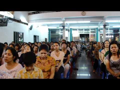 Thánh Lễ Kính Lòng Thương Xót Chúa của Cha Long tối 4.8.2011- Nhà Thờ Bác Ái