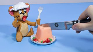 Oh no! Baby TOM & JERRY : Funny Video | Stop Motion Cooking & ASMR 4K