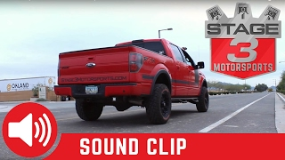 "2011-2014 F-150 Diamond Eye 4"" Catback Exhaust Sound Clip"