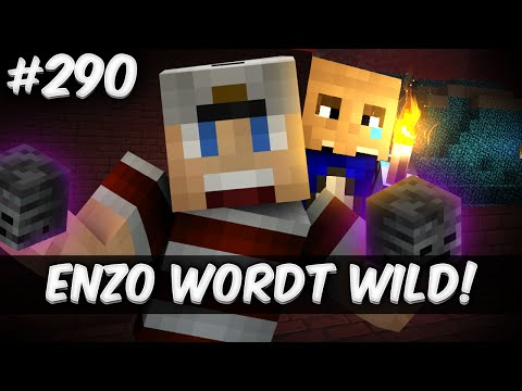 Minecraft Survival #290 - ENZO WORDT WILD!