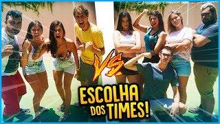 5 VS 5: ESCOLHA DOS TIMES!! [ REZENDE EVIL ]