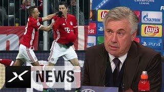 Carlo Ancelotti über Atletico Madrid und Lewandowski-Jubel | FC Bayern München - Atletico Madrid 1:0