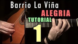 Flamenco Tremolo Exercise - 19 Barrio la Viña (Alegrias) INTRO by Paco de Lucia