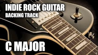 Indie Rock Guitar Backing Track In C Major / A Minor