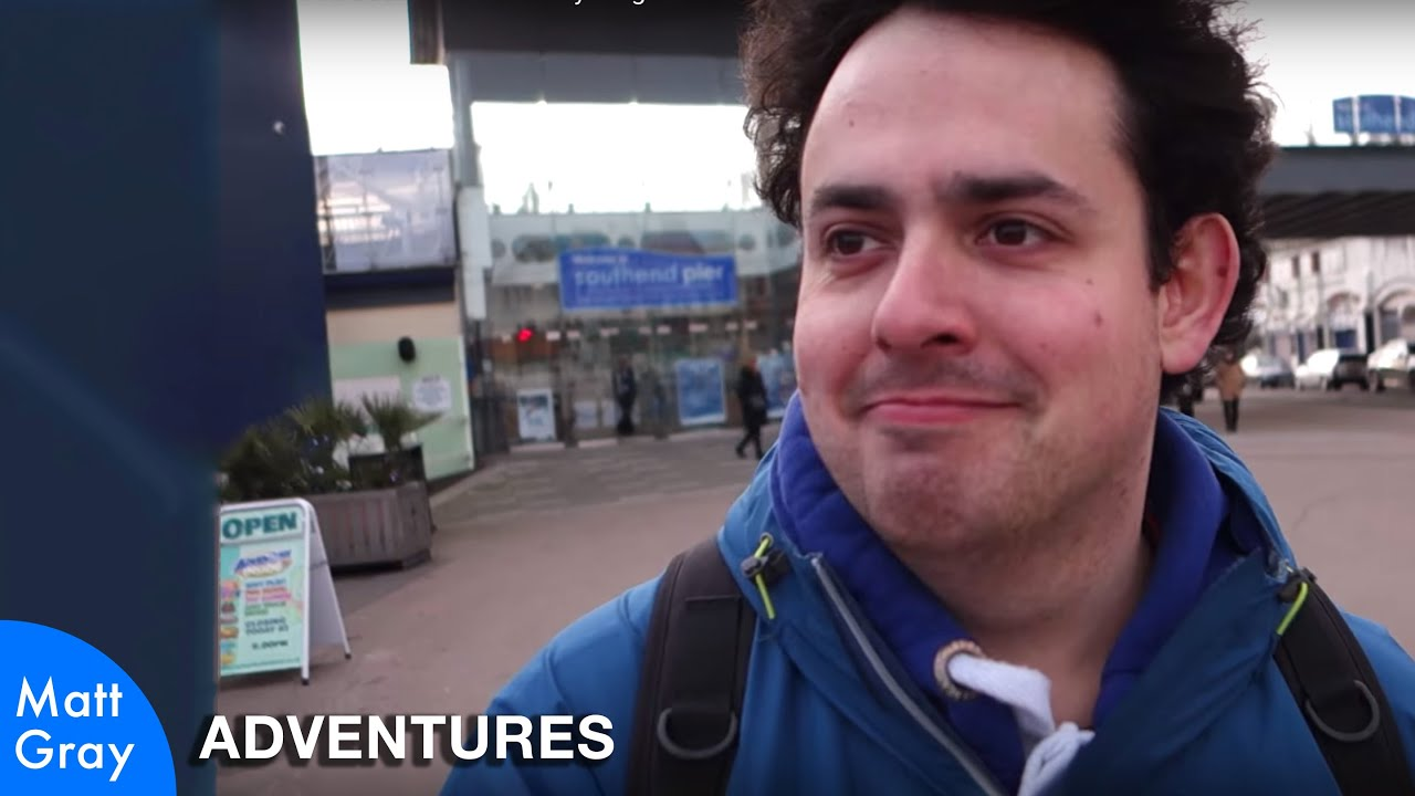 Youtube Thumbnail Image: I Went To Southend And Everything Was Closed