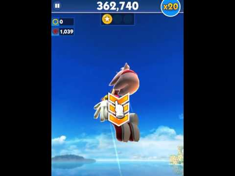 [Sonic Dash] Amy Gameplay 2