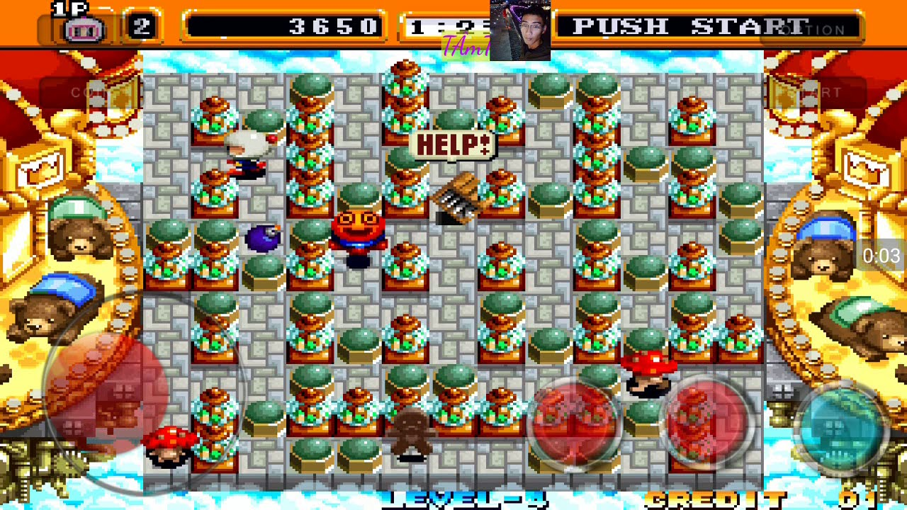 hướng dẫn tải game neo bomberman | Detailed tutorial neo bomberman mame4droid of Android | TM