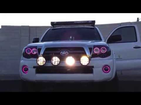 2005 2013 Toyota Tacoma Colorshift Halo Headlights By