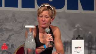Jessica Jacobs, Pre-Race Pro Panel, 2013 IRONMAN Wisconsin
