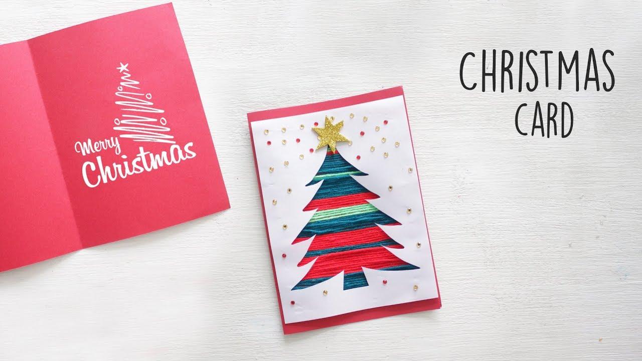 Diy Christmas Card Diy Holiday Card Ideas Youtube
